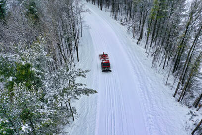 Snowmobile Trail Groomer